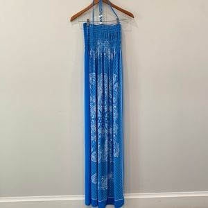 Just Love cover up dress long halter
